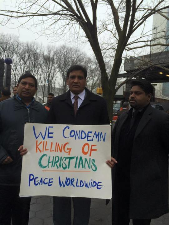 Churches stop the persecution of christians